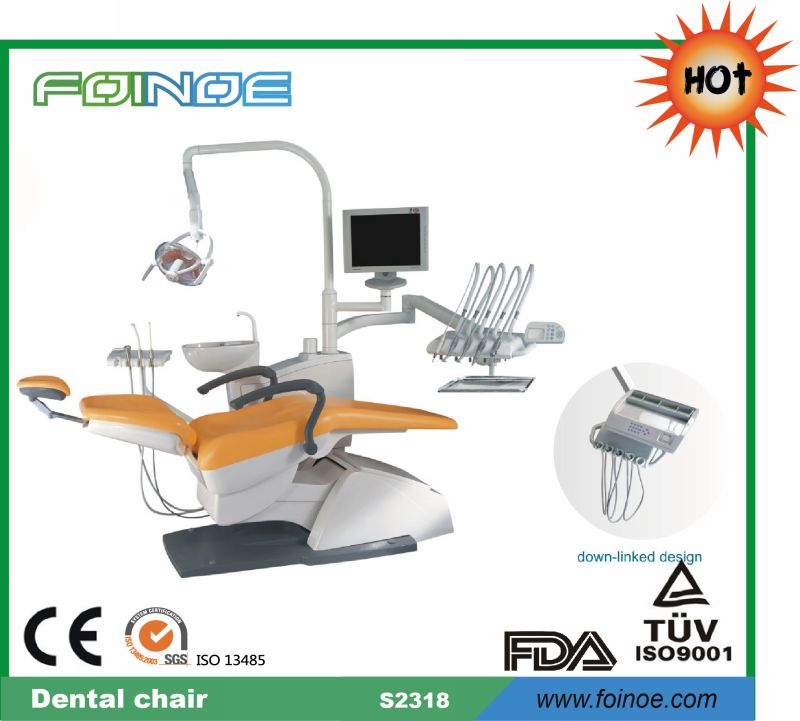 Model S2318 CE and FDA Approved hot selling dental chair price
