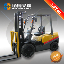 2017 new model, forklift 3000kg capacity with forklift control valve from HYDER for sale