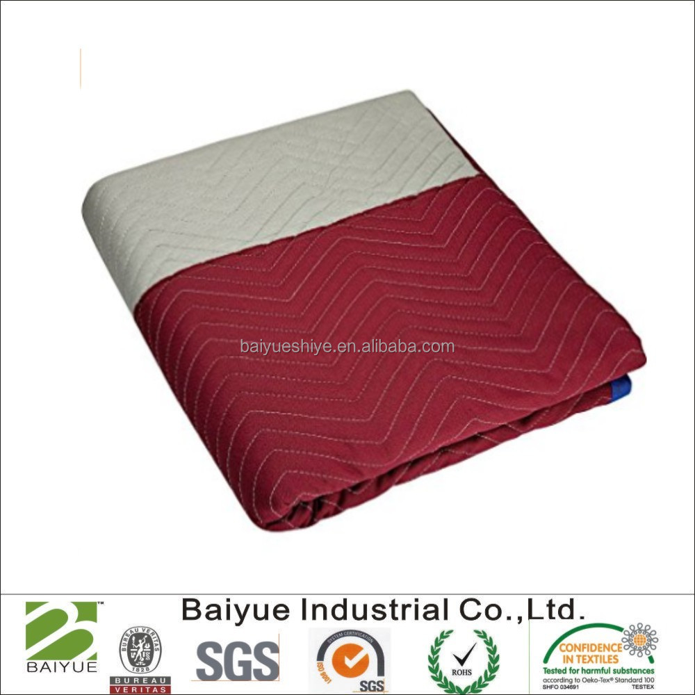 100% polyester blanket/pad for moving