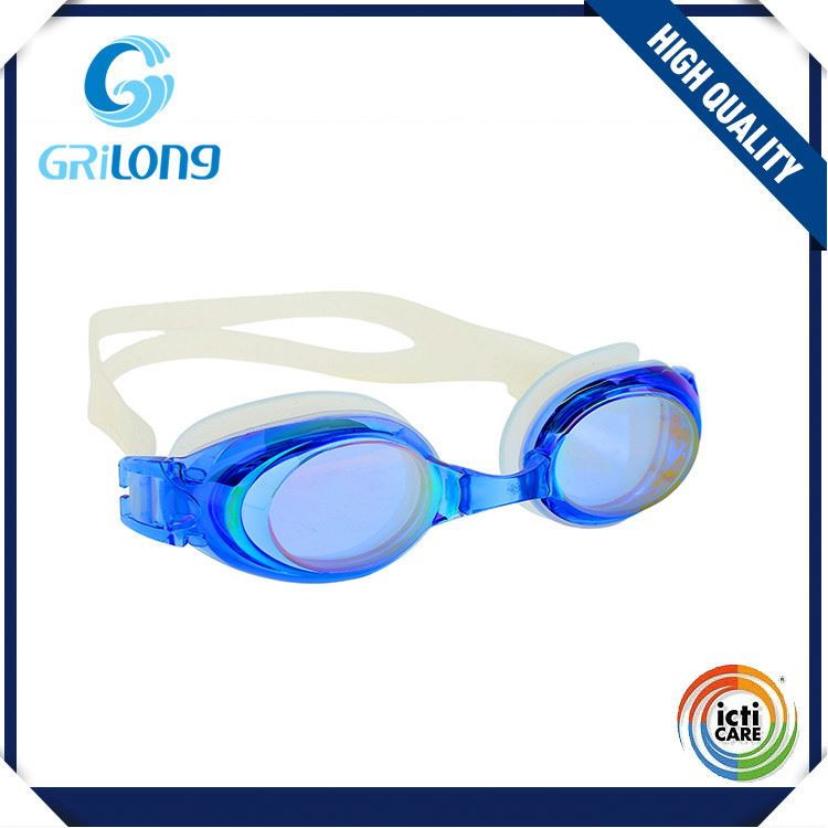 Top selling simple design anti fog good swimming goggle with competitive price