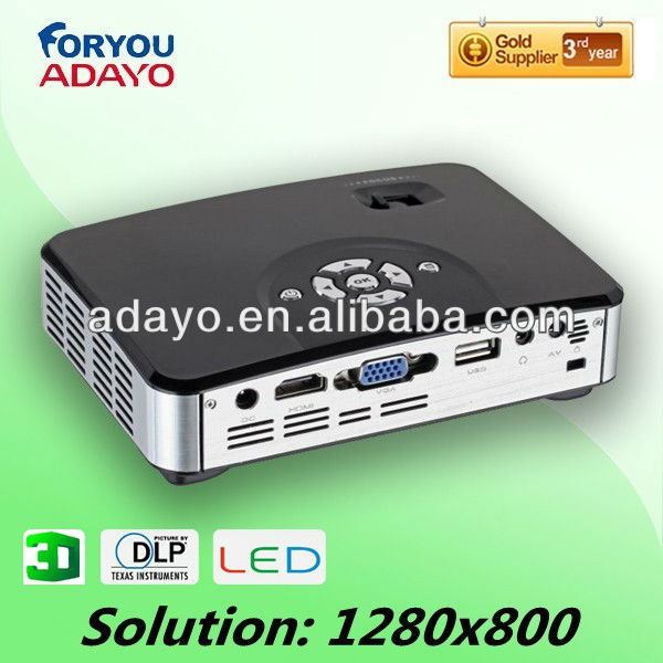 Power LED 1W Projector with USB Smart Card Reader