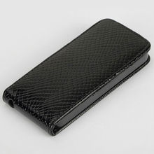 leather new snake skin hard case for iphone 5