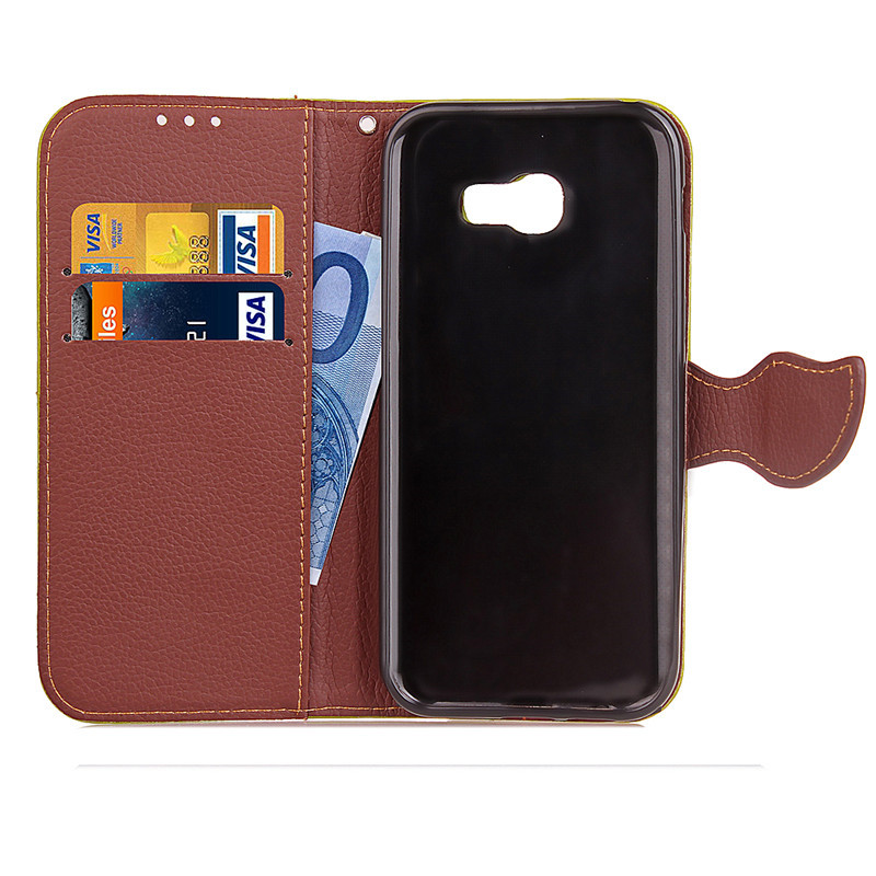 Hot Selling Wholesale Factory Price Mobile Phone Case for Samsung J5 Prime PU Leather Flip Cell Phone Case for Samsung J5 Prime