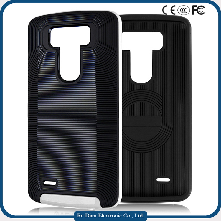 Full Protective Rugged Handset Case Phone Back Cover for LG G3 D855