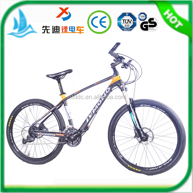 26 inch Chinese carbon fiber mountain bicycle, sport carbon fibre bike