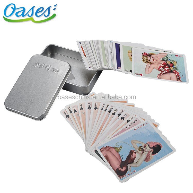 Shenzhen 100% plastic playing cards poker