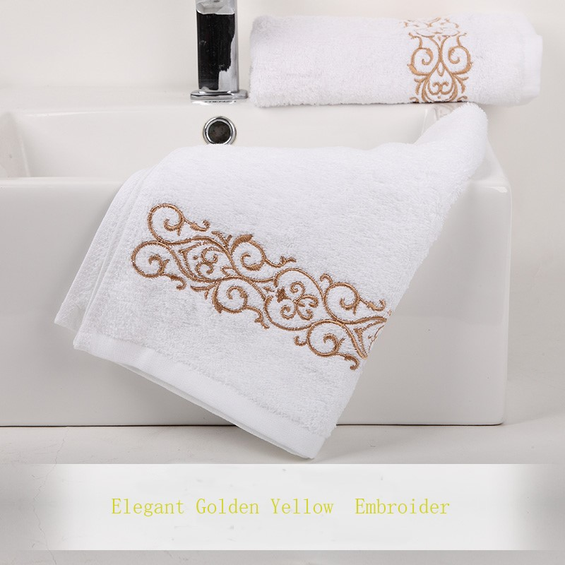 Factory custom design face towel logo