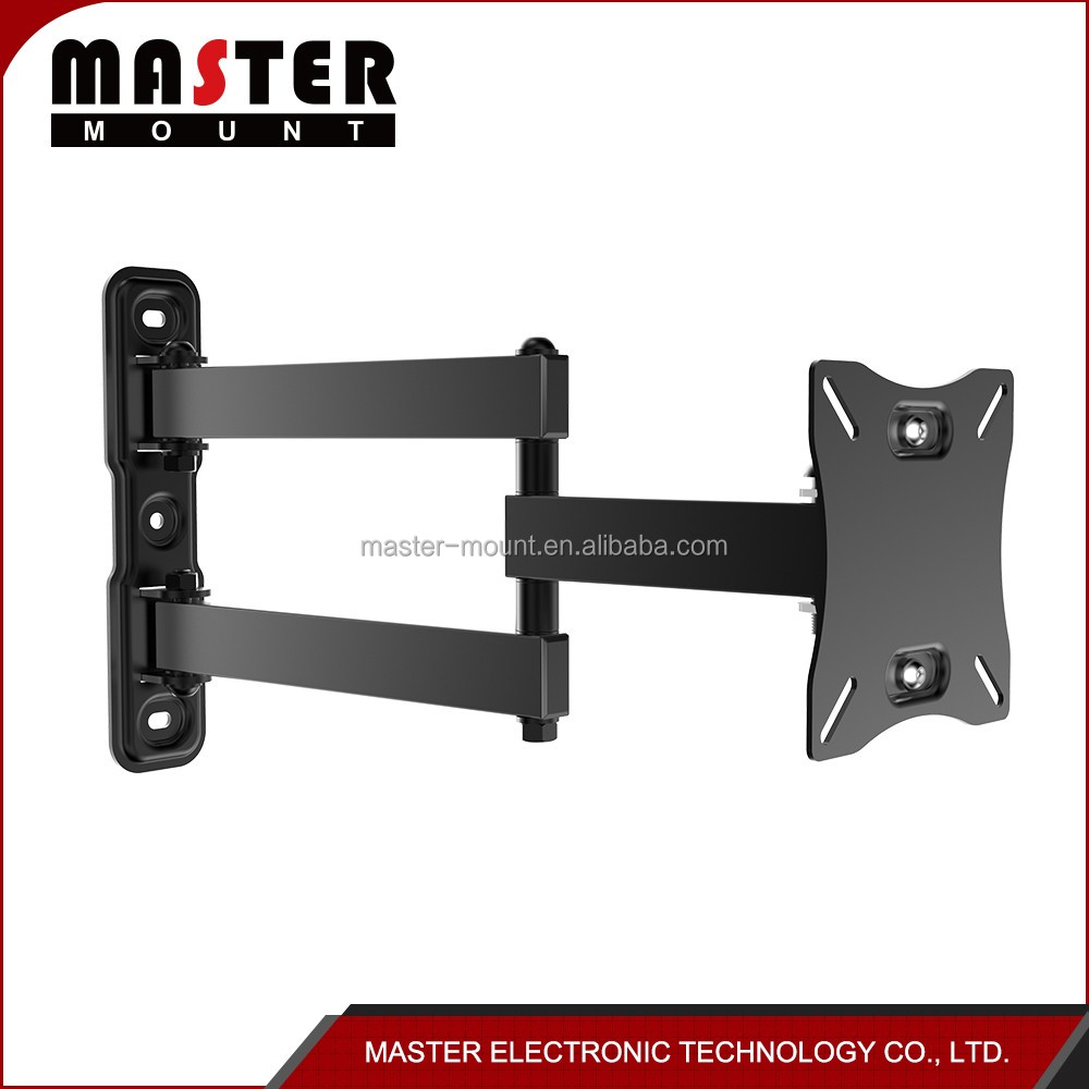 "13""-27"" LED LCD Plasma TV Wall Mounts bracket full motion VESA 100x100"