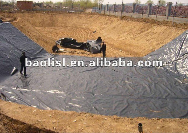 Fine Friction LAND FILL 1.0MM PE LINER