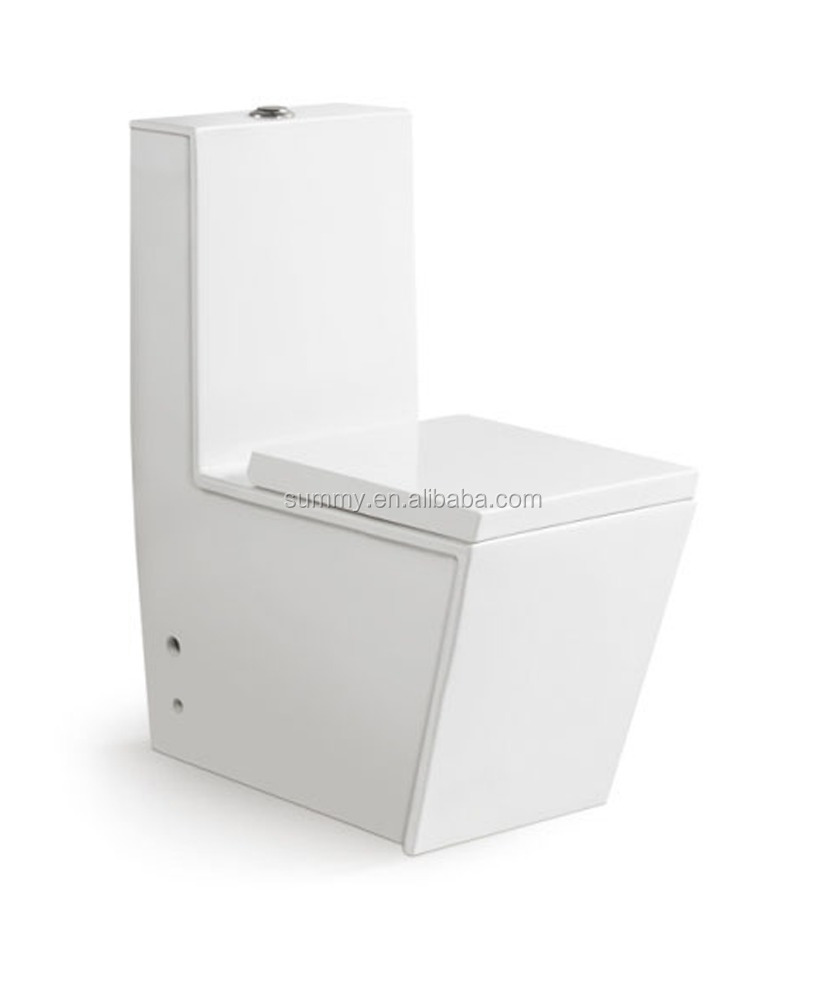 Ceramic toilet bowl Model SC139 for bathroom use one piece toilet/used portable toilet for sale