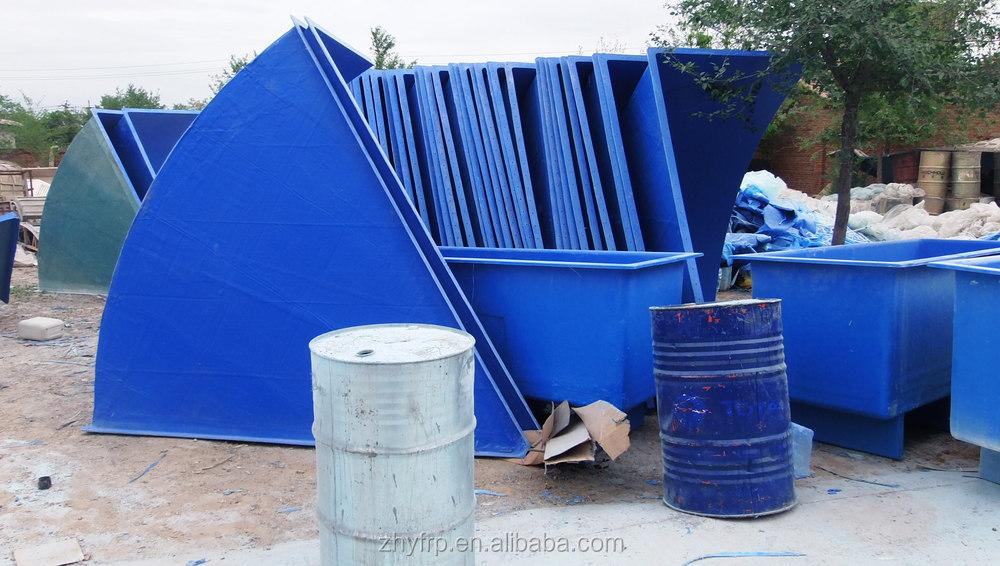 2018 fiberglass water tank non toxic fish farming tanks for Outdoor fish tank for sale