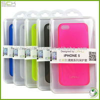 UMKU ultrathin PC case for iPhone 5, Fluorescent color plastic case for iPhone 5