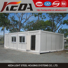 Prefabricated House Container Home Combined as Canteen, Restaurant, Office Building for sale