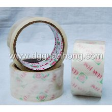 Chinese Supplier Hot Sale Transparent Bopp Adhesive color tape