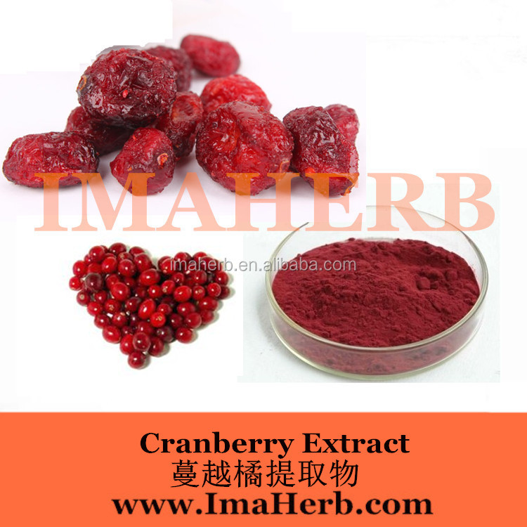 Factory Supply Cranberry Extract 25% proanthocyanidins
