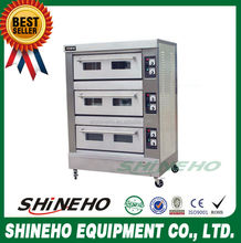B011 stainless steel electric baking oven/pizza roaster/oven bread