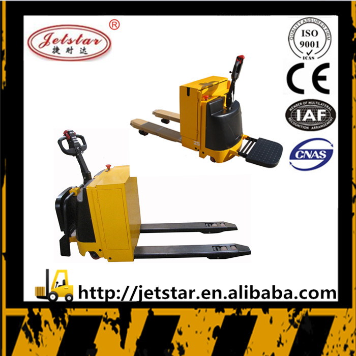 china supplier mini walkie full electric pallet truck