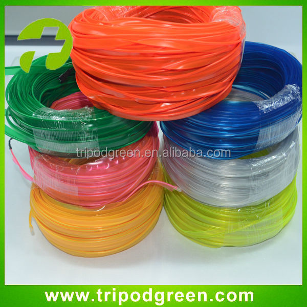 4mm 5mm sewable el wire with battey inverter for suit