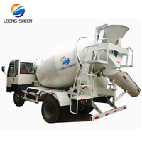 5 cbm Cement Mixing Vehicle/Low Price Concrete Mixer Truck Sale