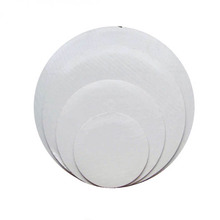 disposable paper cake pads, corrugated white cake circles,round cardboard cake trays