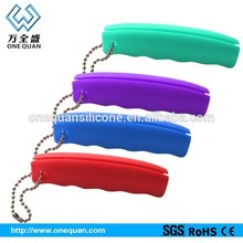 Fashion silicone handle grip for shopping bag Fashion confortable silicone shopping bag for easy carrying