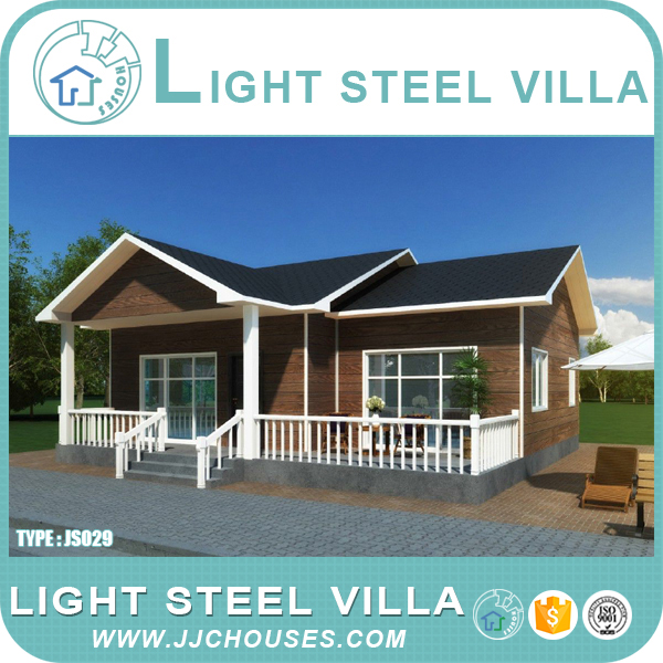 2016 new prefab villa design, fashion design export prefab house, high quality prefab villa house luxury