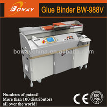 18 Year CE ISO Boway 988V best automatic electric photo book glue machine