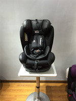 Leather riola plus baby car seats kids safe car booster with ECE R44/04 for group 0+123 (0-36kgs, 0-12 year baby)