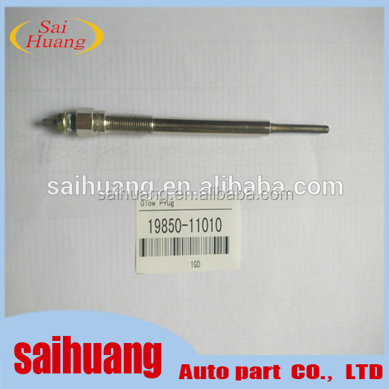 Use for Hilux 1GD Diesel Engine Glow Plug 19850-11010