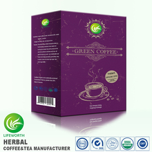 Lifeworth professional green cappuccino coffee maker for anti-aging America exclusive new formula instant turkish coffee
