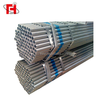 China Supplier 1-1/2'' 2'' 2-1/2'' bs1387 class b hot dip galvanized steel pipe for greenhouse frame