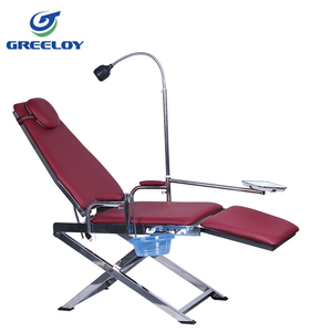 portable dental chair with LED Spotlight price
