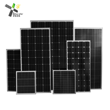 2018 high quality mono solar panel OEM 50w 100w 150w 300w 350w 500w high efficiency pv module for home
