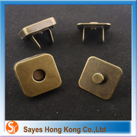 invisible hidden sew in magnetic snap closure made in China