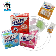 Fresh Breath Paper Mint Candy Strong Mint Candy Fruity Flavor Candy