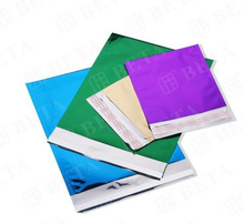 Custom aluminum foil laminated film air bubble envelope for shipping