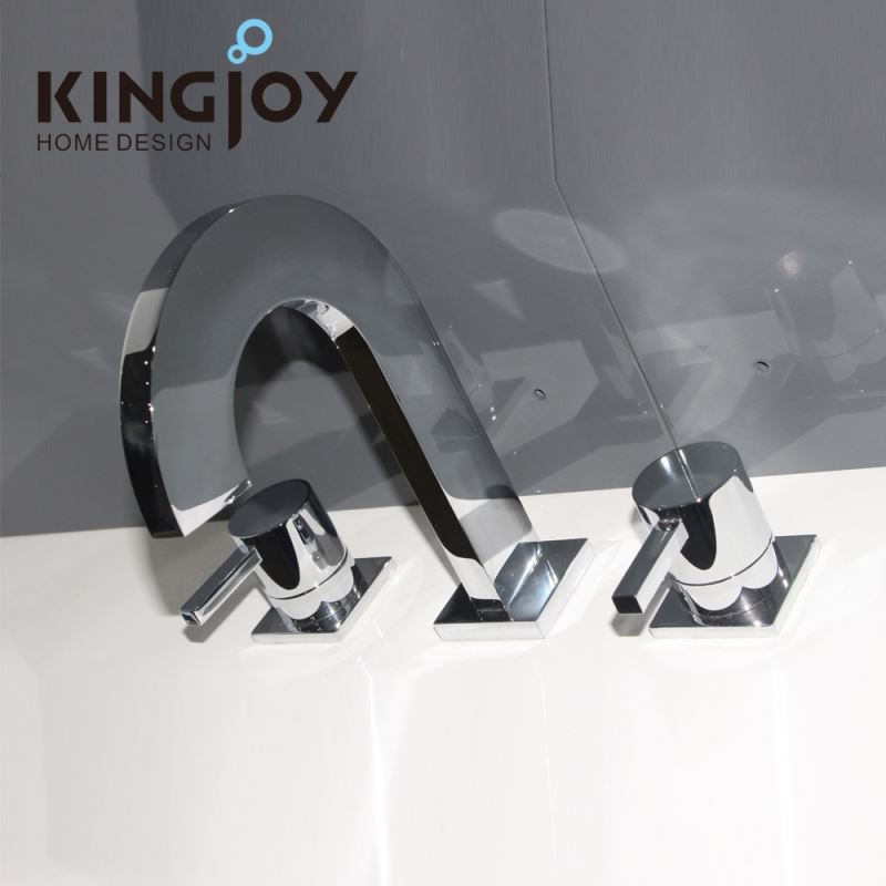 Bathroom gold swan basin faucet, Kitchen sink mixer tap
