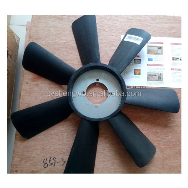DCEC ISDe160 30 diesel engine fan blade c4931792
