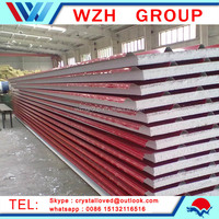 Polyurethane Foam Sandwich insulated Roof Panel clear roofing panels from china suppliers