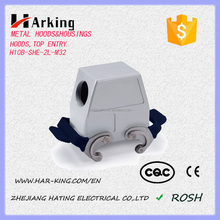 Factory Price H10B Side Entry High Construction Housings / Industrial Heavy Duty Cable Connector