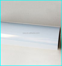 water resistant special coating roll scrap 120mic glossy pet transparent film