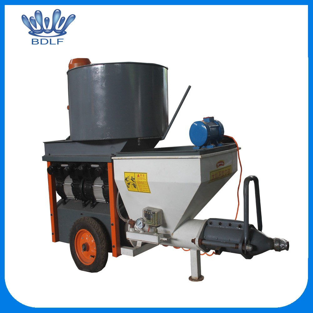 latest technology used construction equipment Semi-Automatic Wall Cement Mortar Plastering Spray Machine