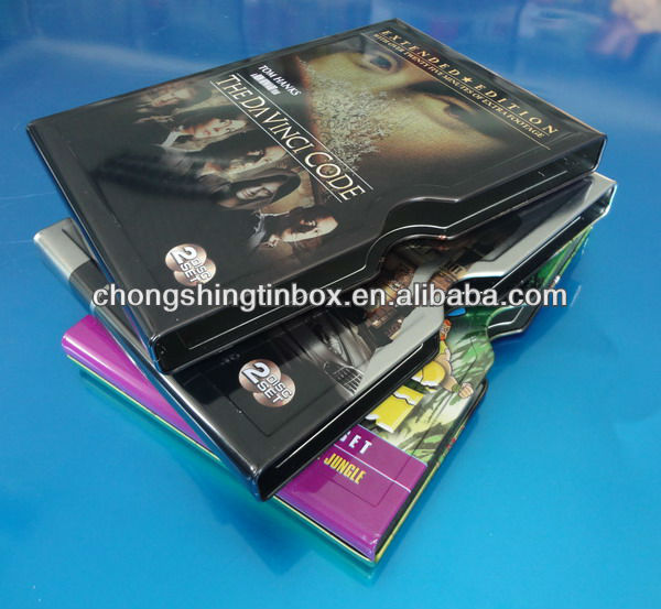 2013 new products metal one piece DVD case from manufacturer in DongGuan China