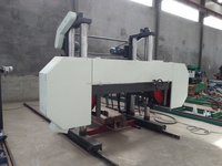 Heavy Duty Horizontal Woodworking Bandsaw Mill Machine Timber Band Saw