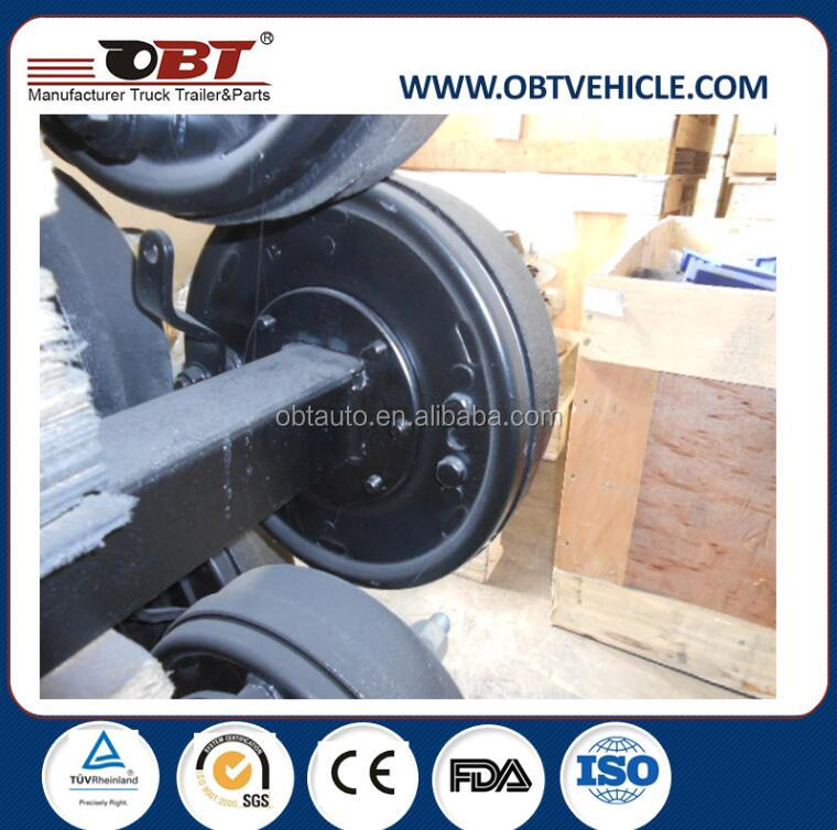 2-3 tons small farm tractor trailer axle