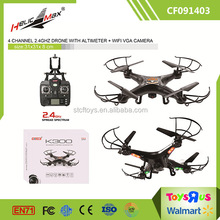 Upgrade Version KOOME K300 Model Quadcopter 4CH Set High 480P WIFI Drone Camera