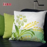 Digital printed cushion, flower printing home use cushion cover 50x50
