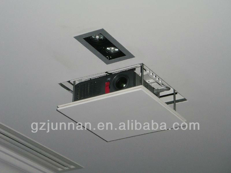 remote control ceiling lift / ideal equipment multi-media ceiling projector lift in office