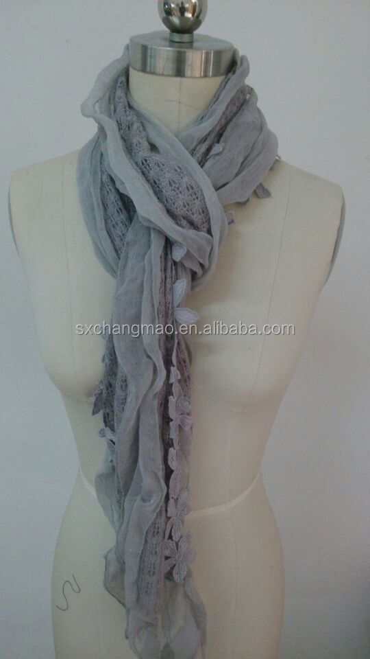 new arrival ladies fashion embroidery scarf
