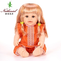 18 Inch Girl Doll Toys For Childre With Real Human Hair Extension ND-CF